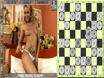 Chess Game with a striptease
